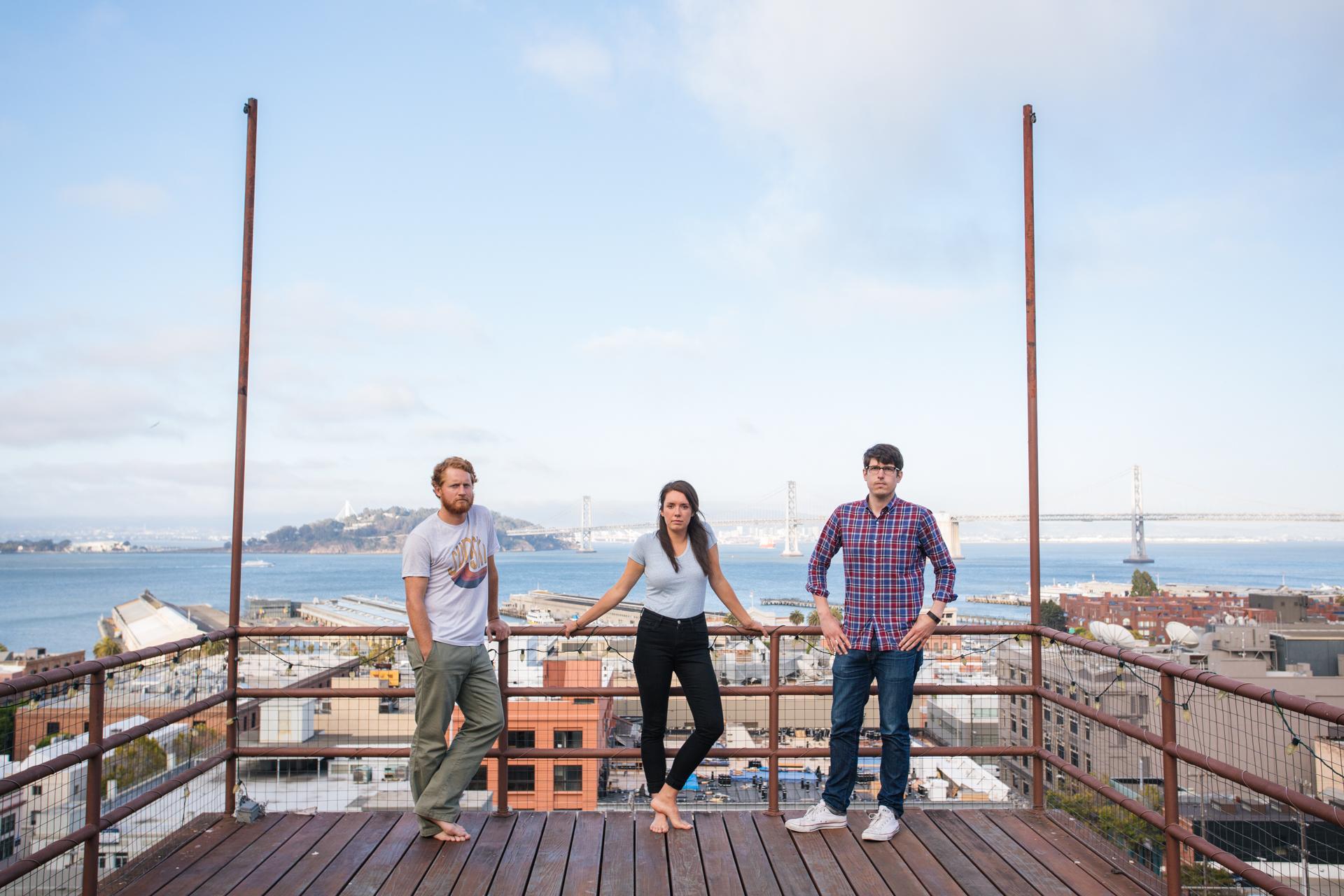 THE MATES IN TELEGRAPH HILL, SF