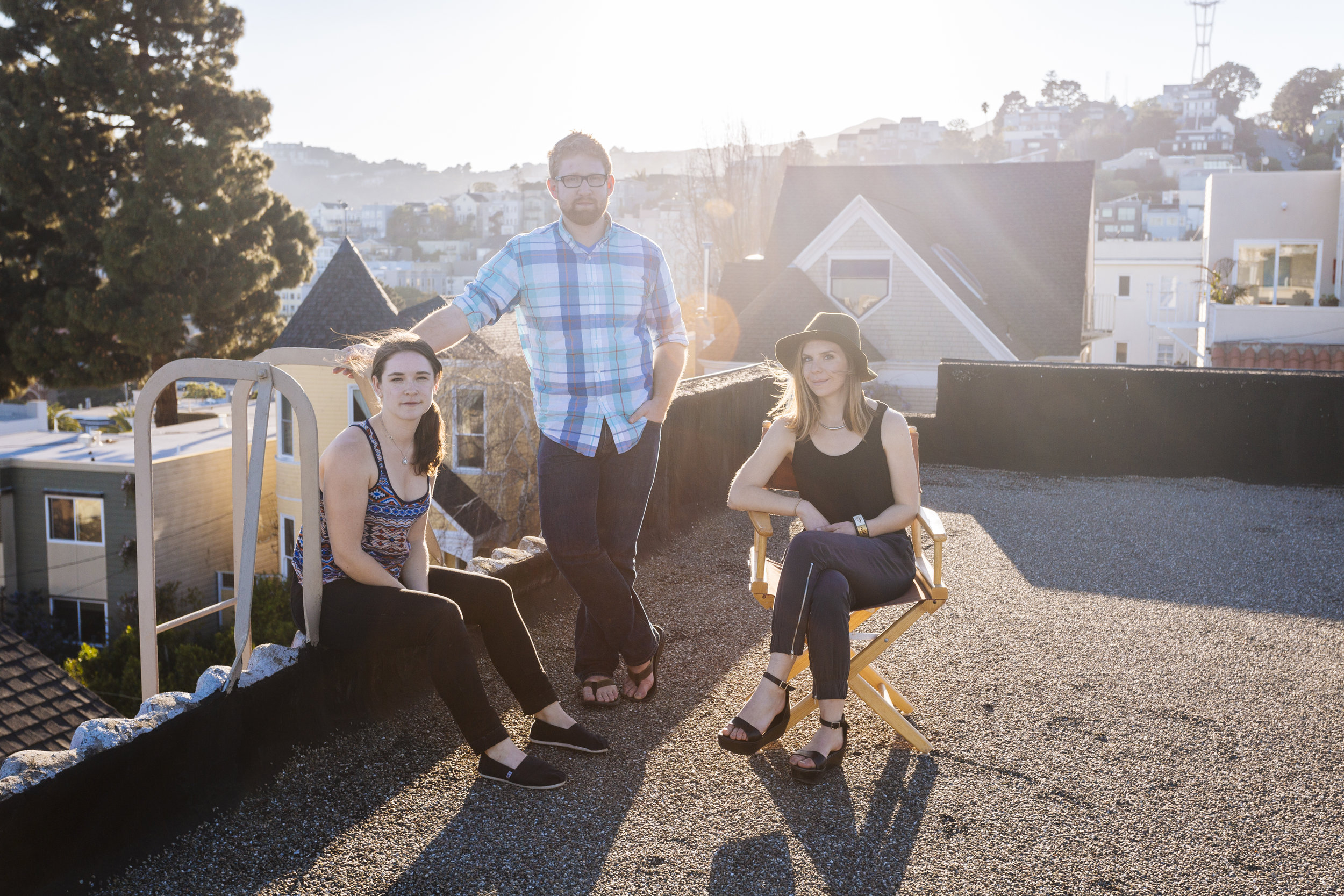 MOLLY, TRAFTON & EMILY / Dolores Heights, SF