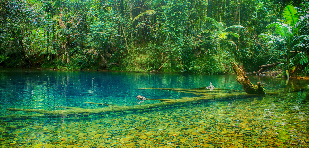 The Blue Pool, Far North Queensland