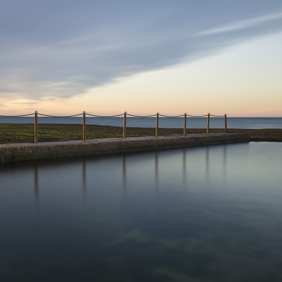 Stillness at Mona Vale Ocean Pool