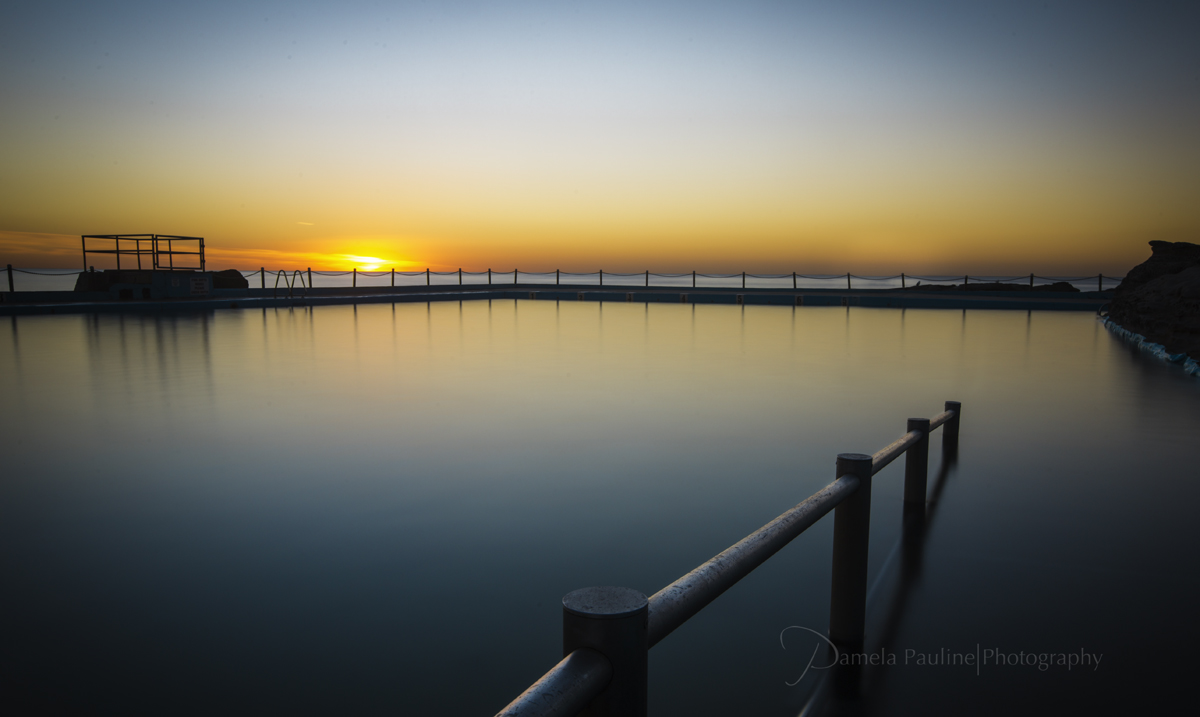 Sunrise at Dee Why Ocean Pool #2