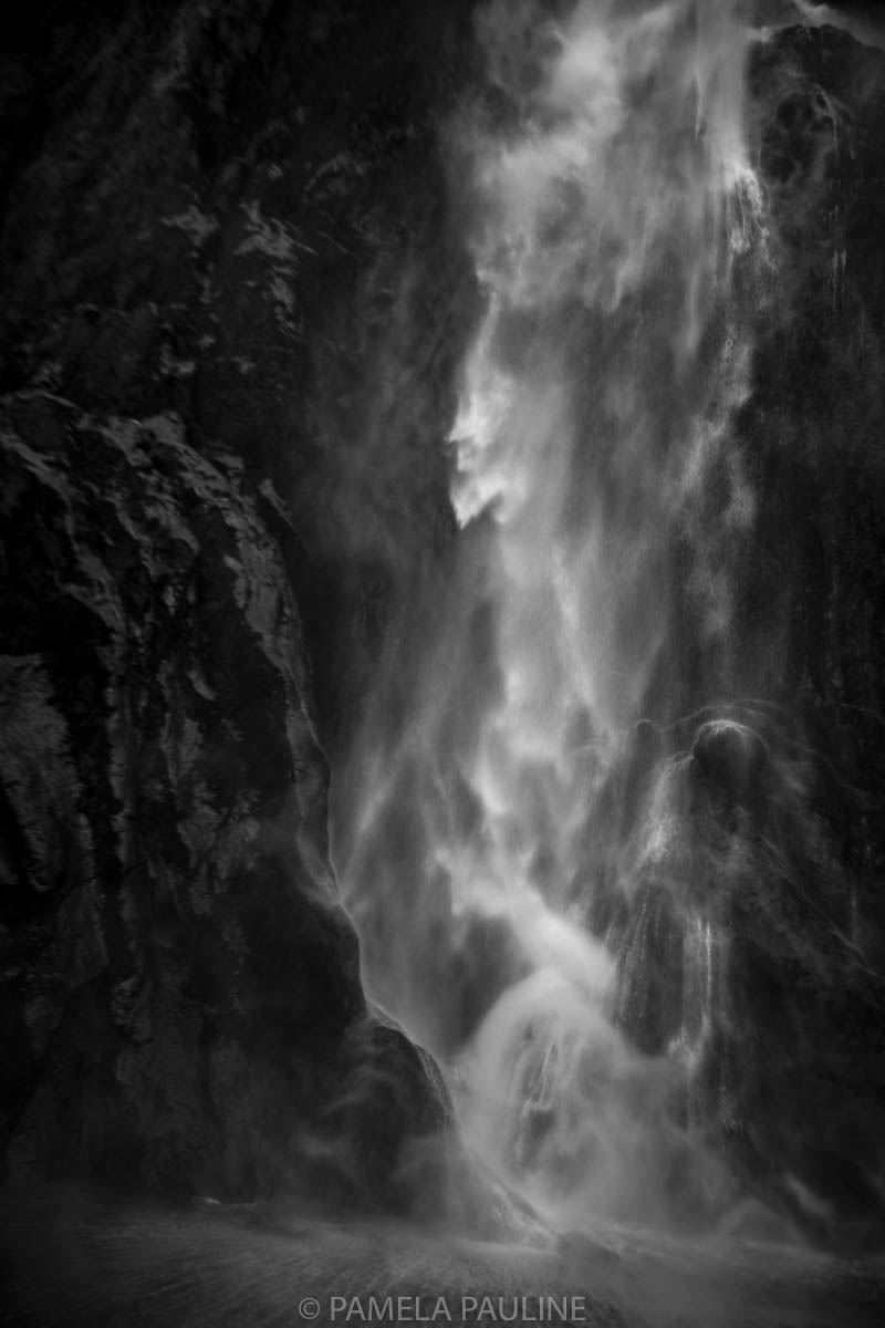 Waterfall on Milford Sound