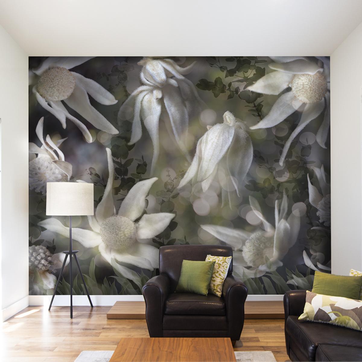 Flannel Fairies Bespoke Wall Mural