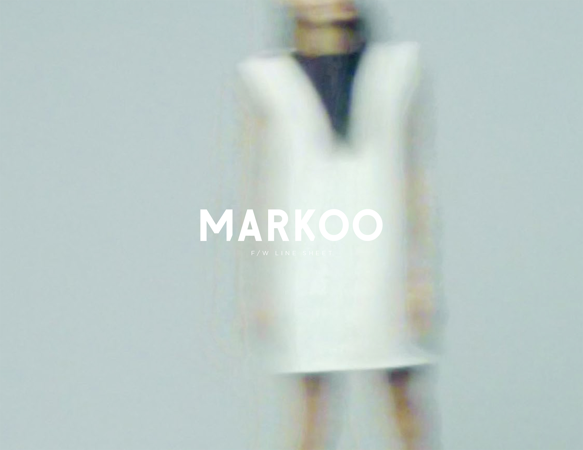 A selection of images from the Markoo Studios Fall/Winter '15 campaign and lookbook.
