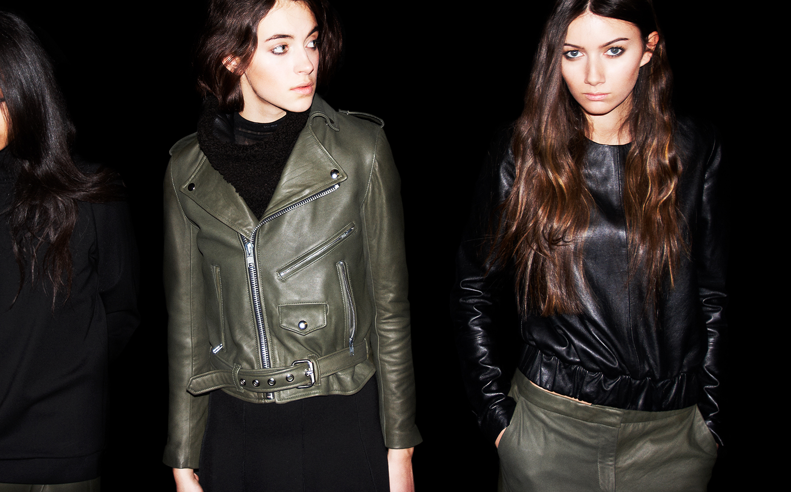 Some pulled images from Markoo Studios fall/winter leather campaign.