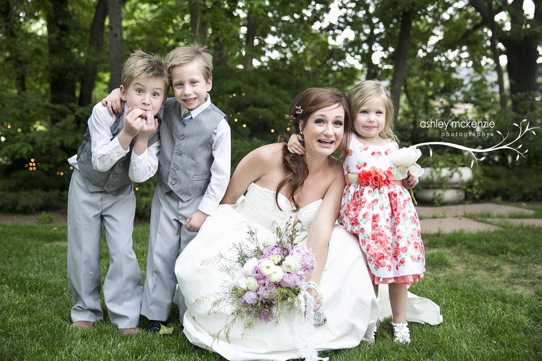 Charlotte Jarrow with her Niece & Nephews