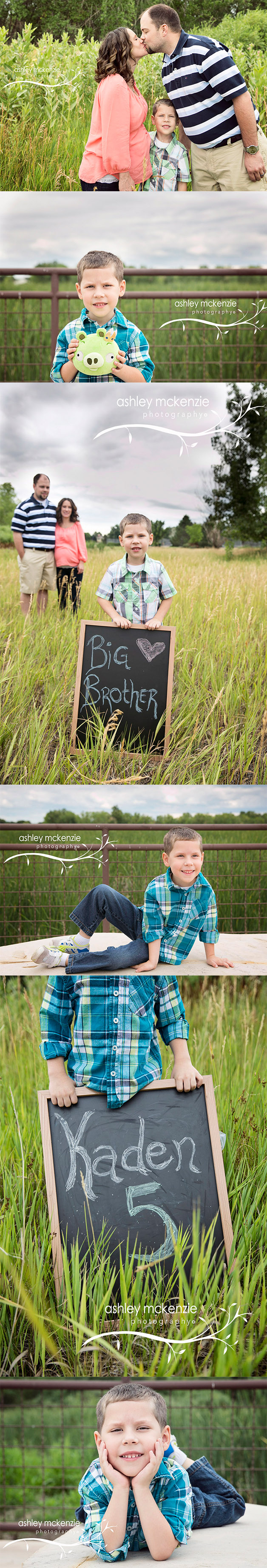 Family Photography Session By Ashley McKenzie Photography in Thornton, CO