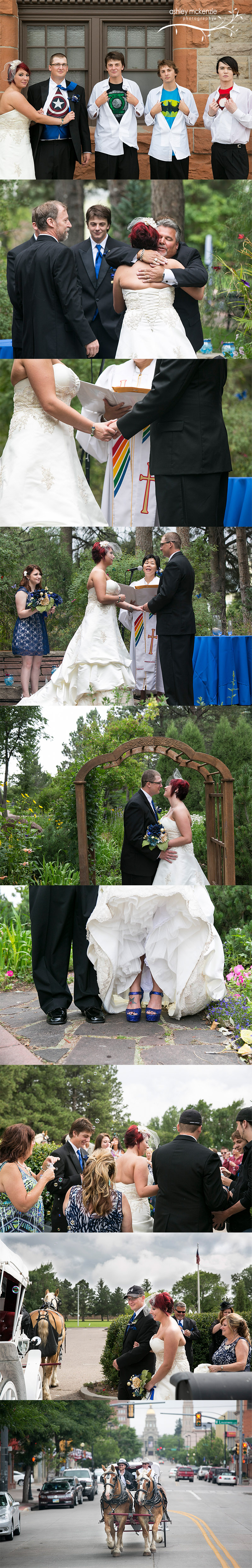 Wedding Photography by Ashley Mckenzie Photography in Cheyenne, Wyoming