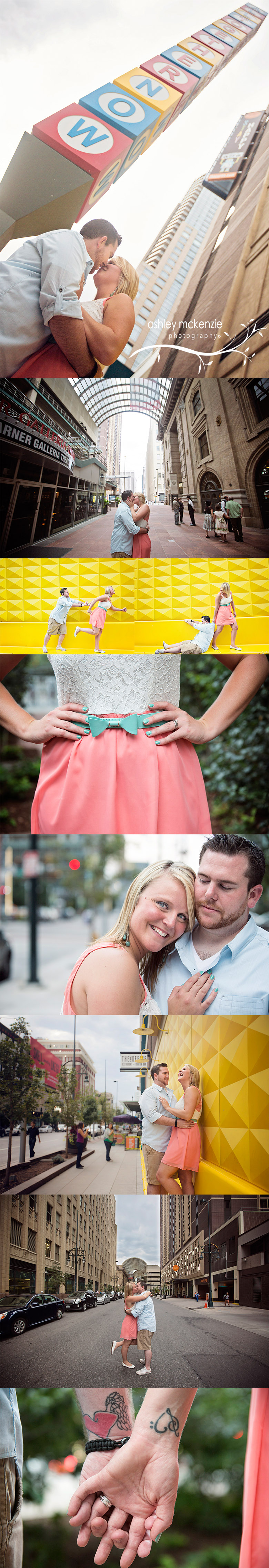 Engagement Photography by Ashley McKenzie Photography in Denver, Colorado