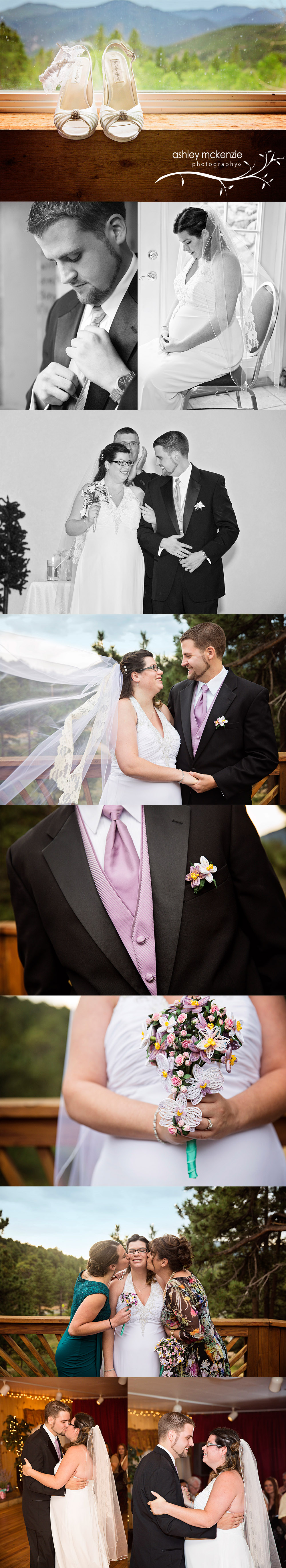 Wedding Photography by Ashley McKenzie Photography in Golden, Colorado