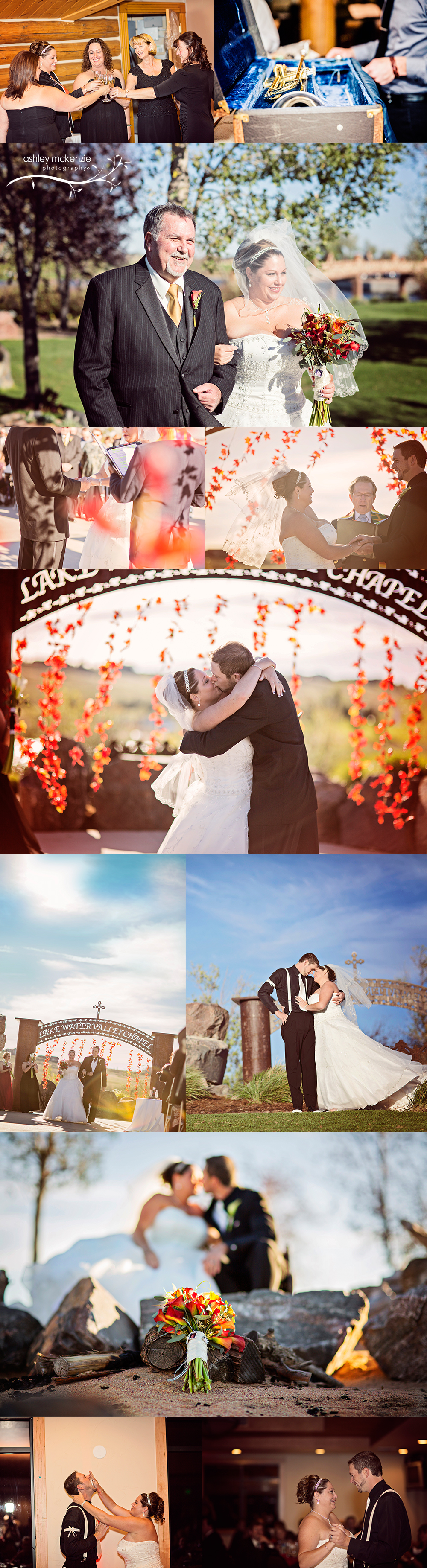 Wedding Photography by Ashley McKenzie Photography in Windsor, CO
