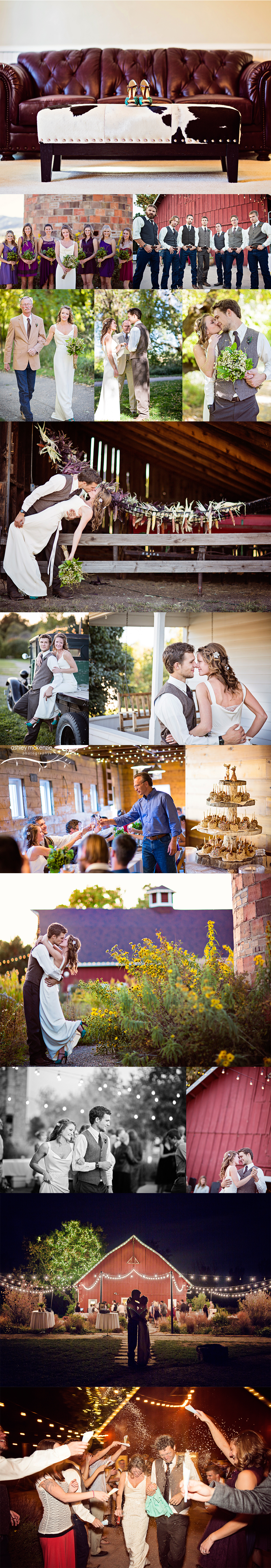Wedding Photography by Ashley McKenzie Photography in Littleton, CO