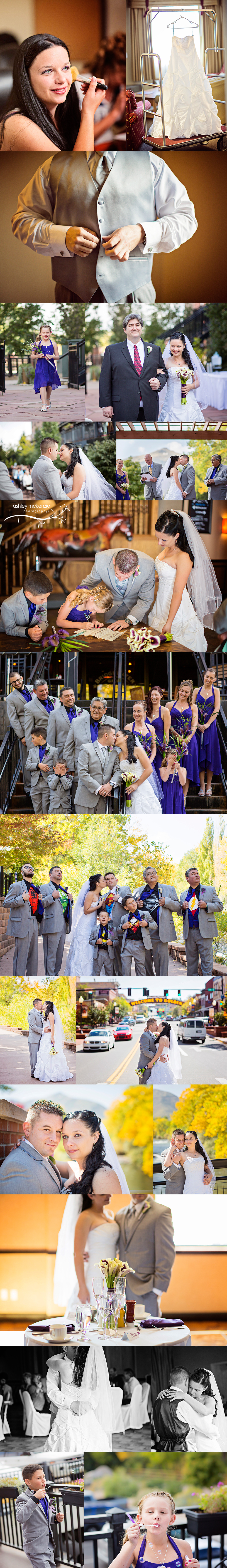 Wedding Photography by Ashley McKenzie Photography in Golden, CO