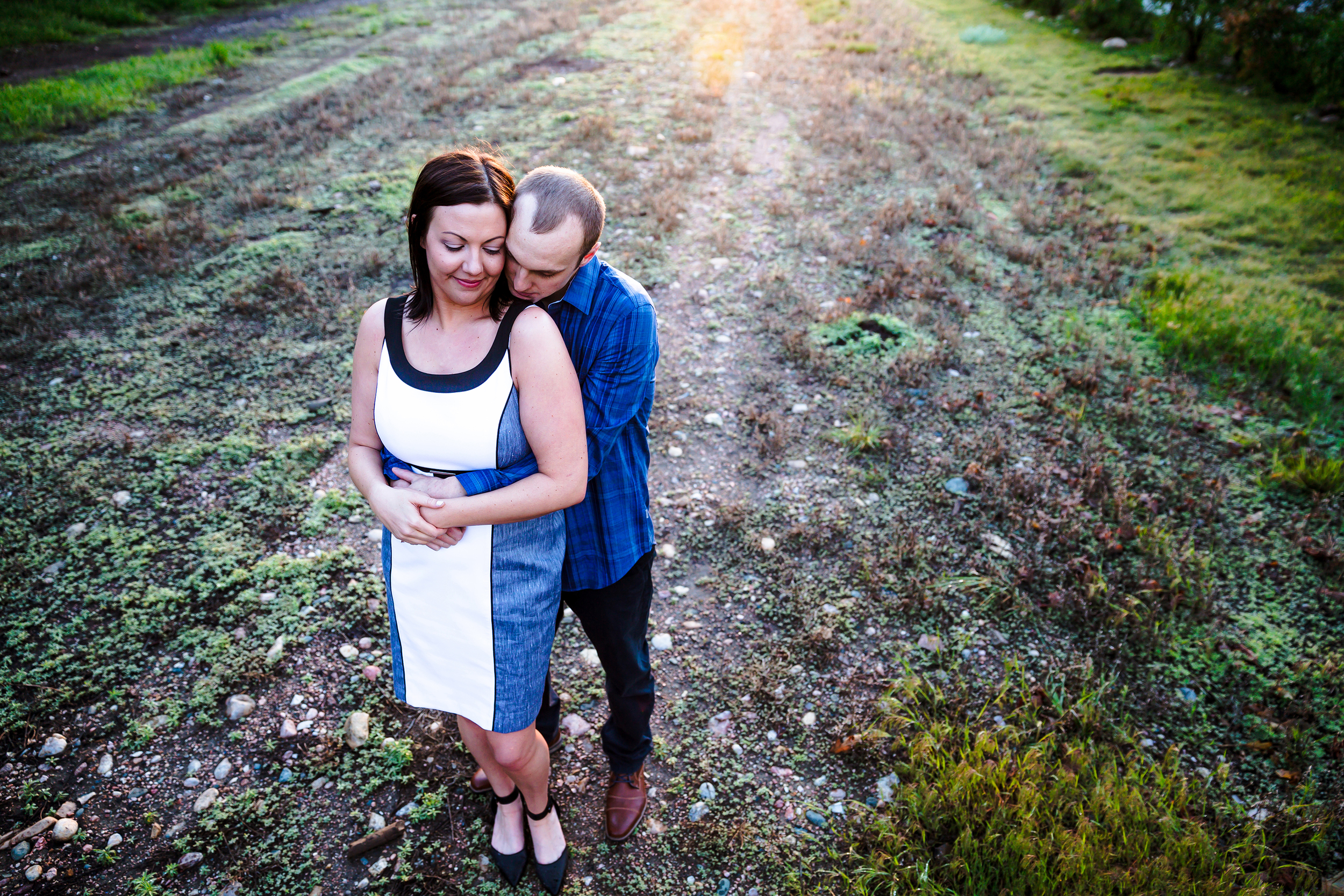 Rustic-Urban Fort Collins Engagement Photography by: Ashley McKenzie