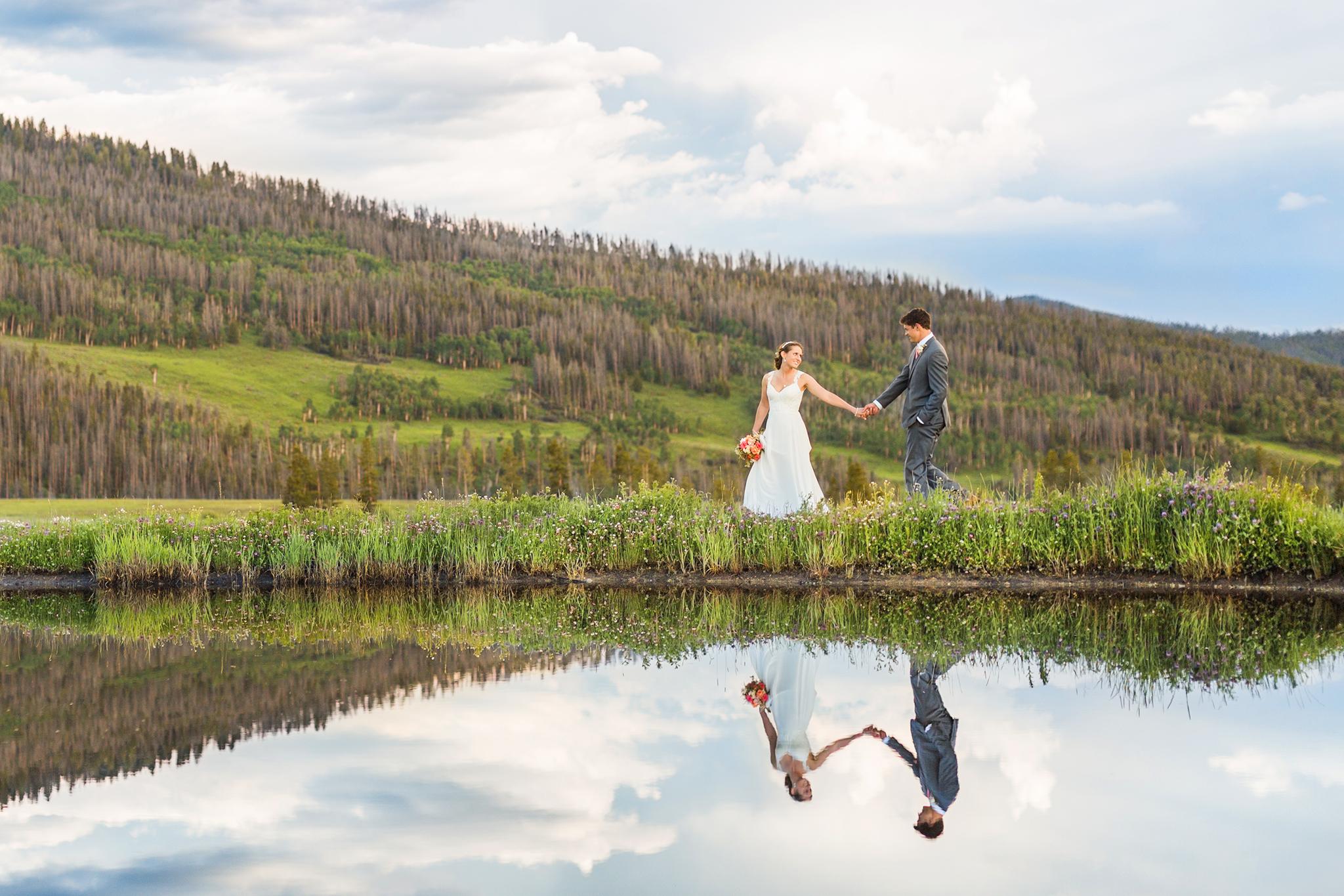 Colorado Rocky Mountain Wedding Photography by: Ashley McKenzie Photography