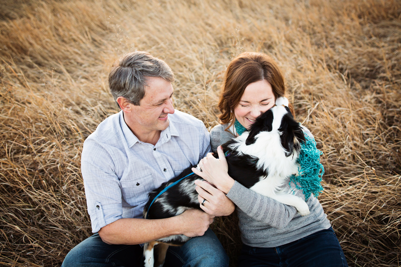 Windsor Family Photo with dog
