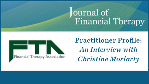 Read about Christine as the Featured CFP in Financial Therapy Magazine -