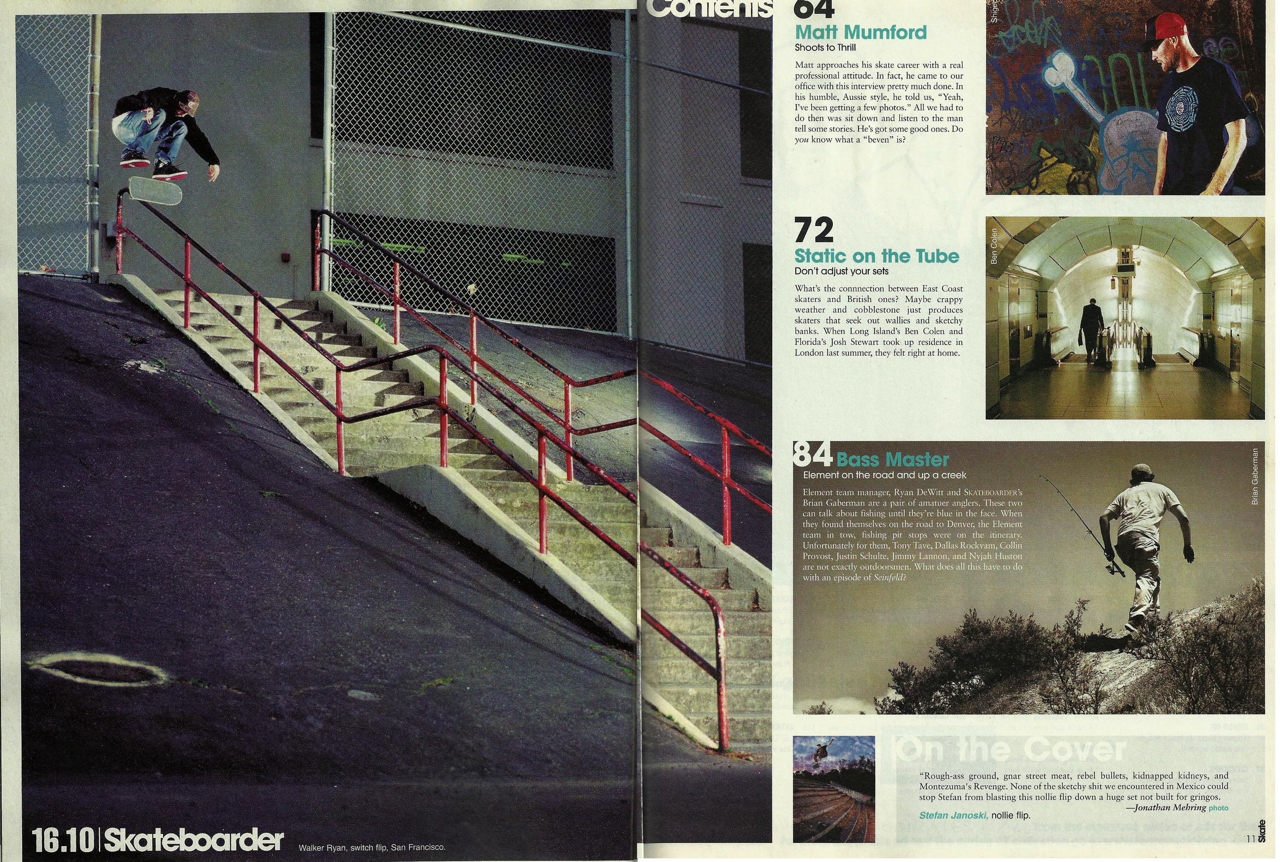 Skateboarder June 2007