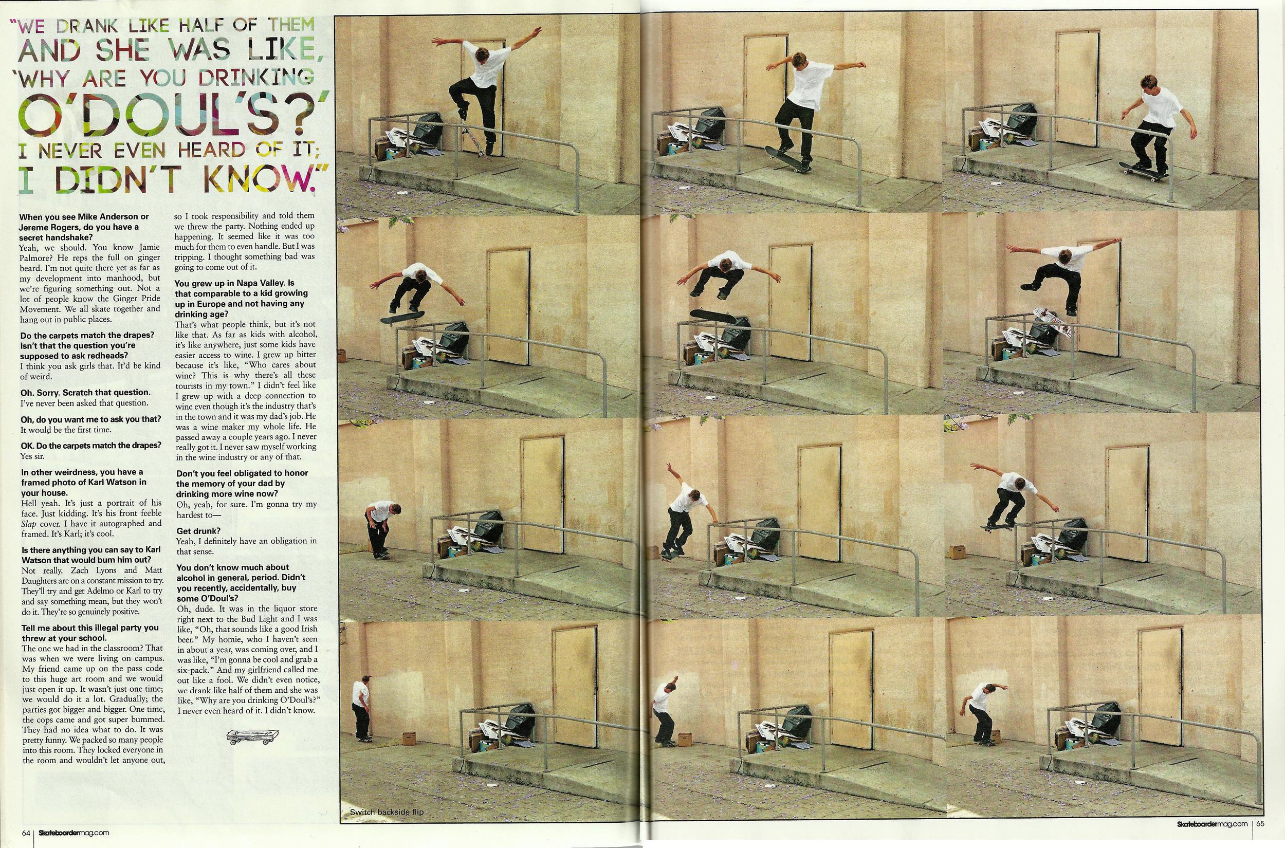Skateboarder December 2010