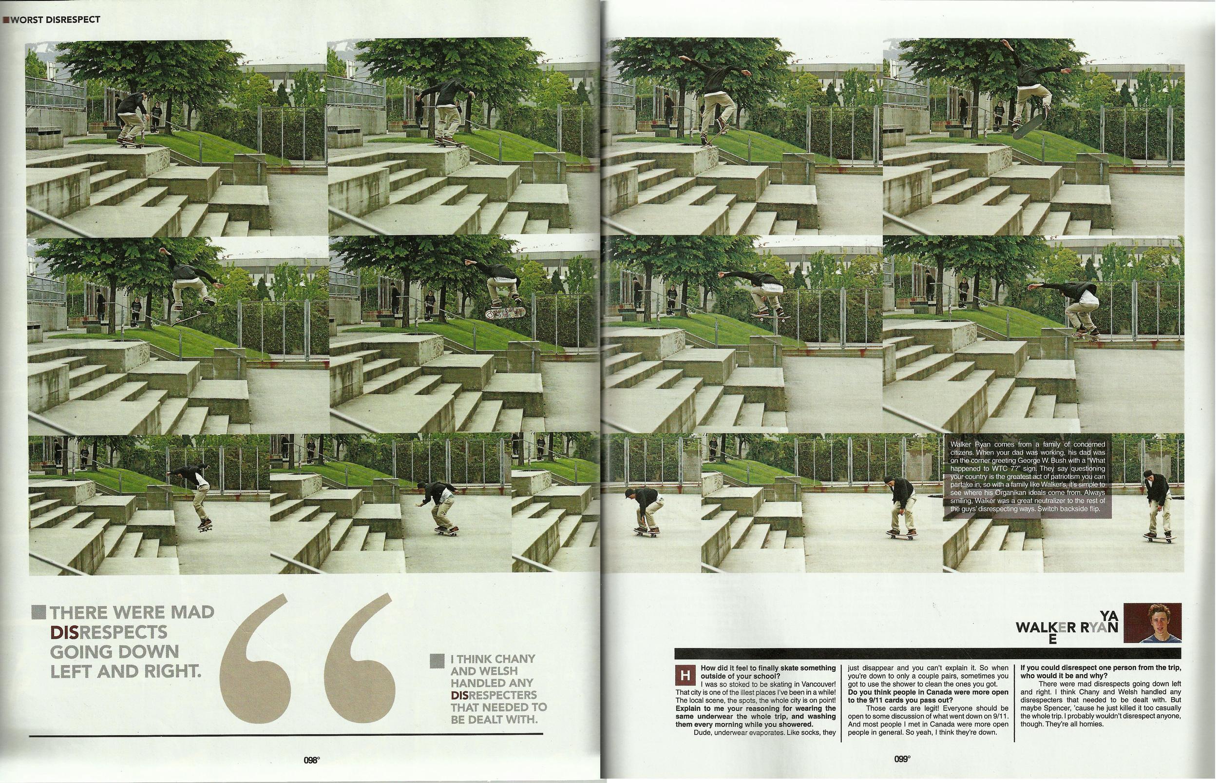 The Skateboard Mag February 2009