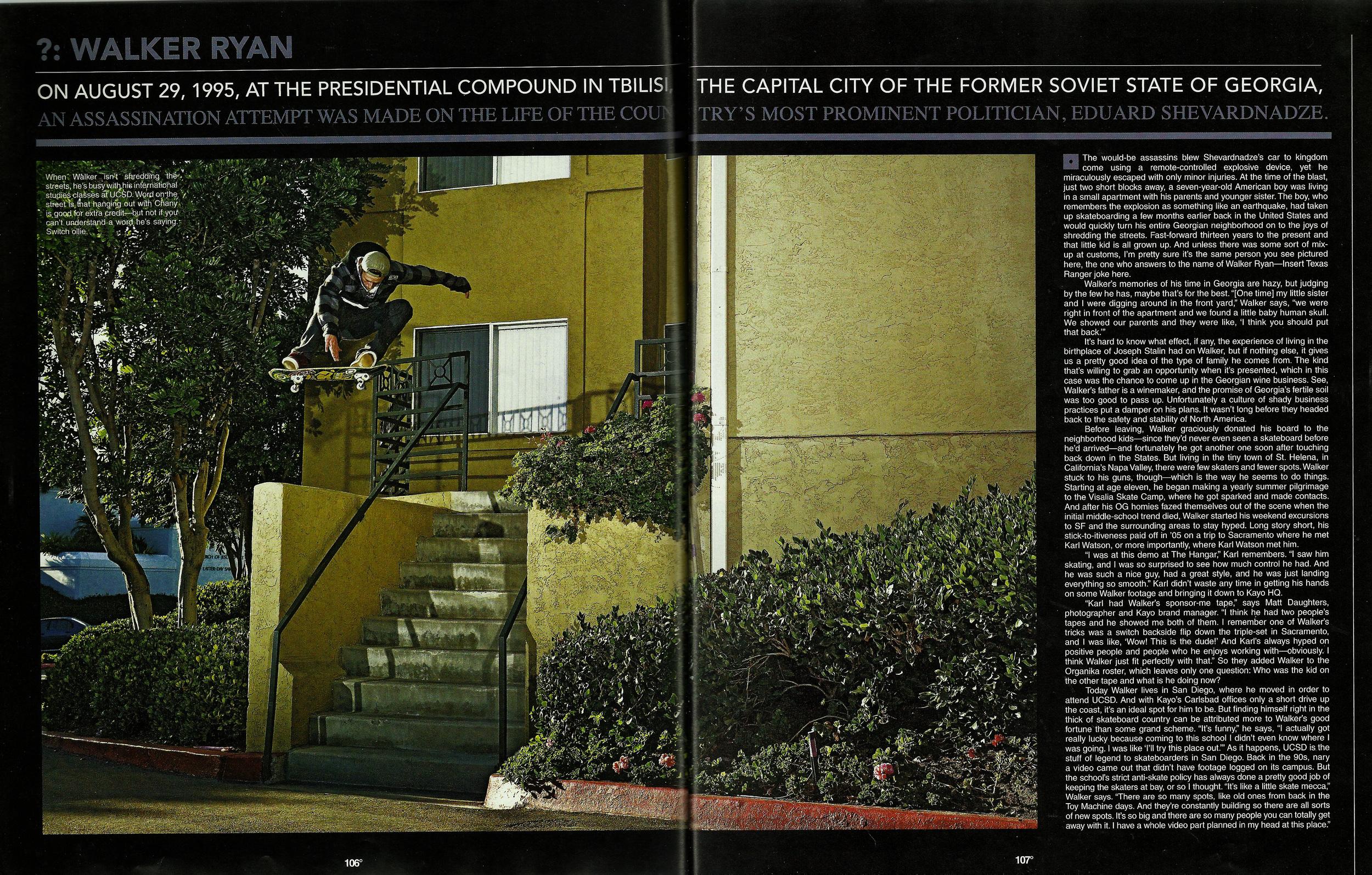 The Skateboard Mag June 2008