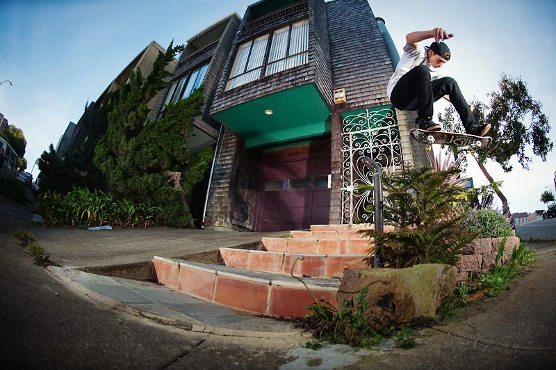 Kickflip by Dan Zaslavsky, San Francisco