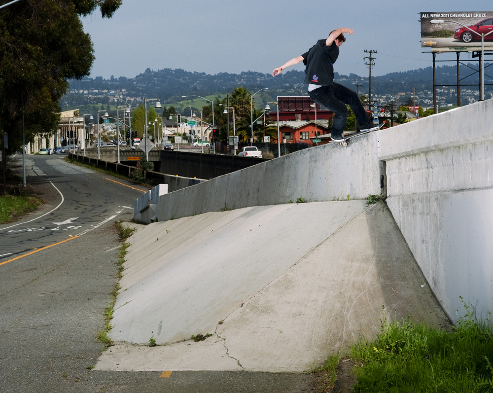 fs Boardslide by Dave Chami, Emeryville