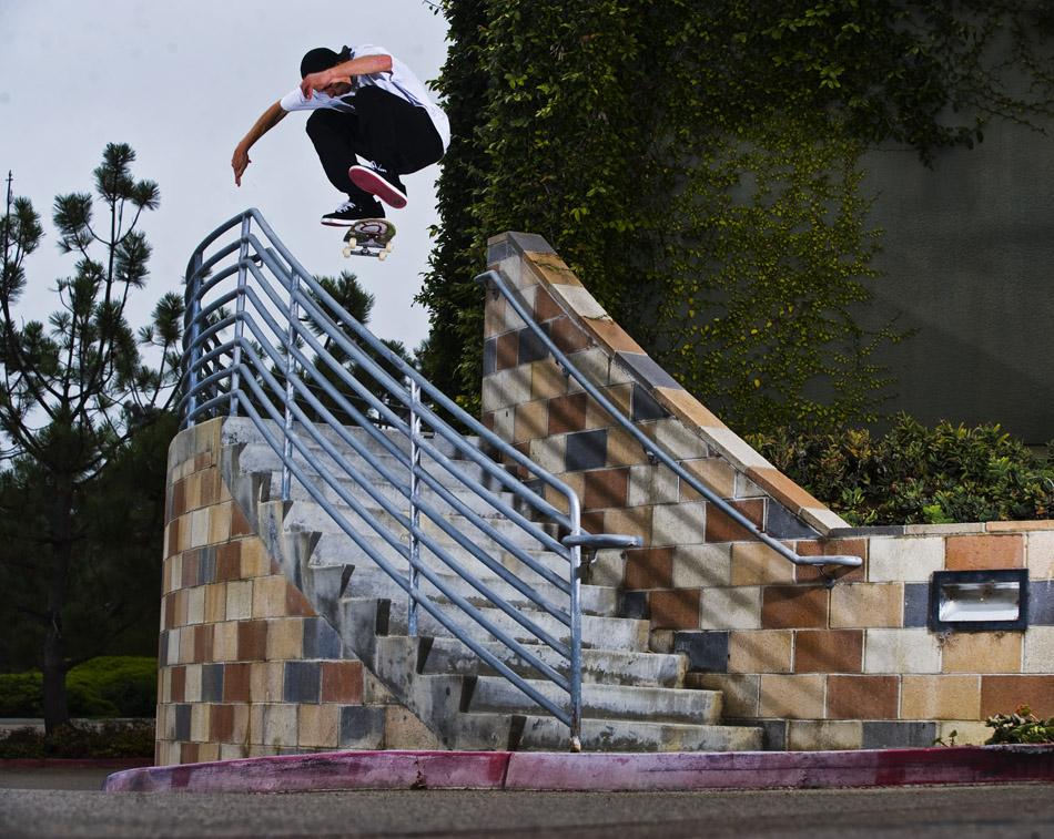 Kickflip by Brian Fick, San Diego