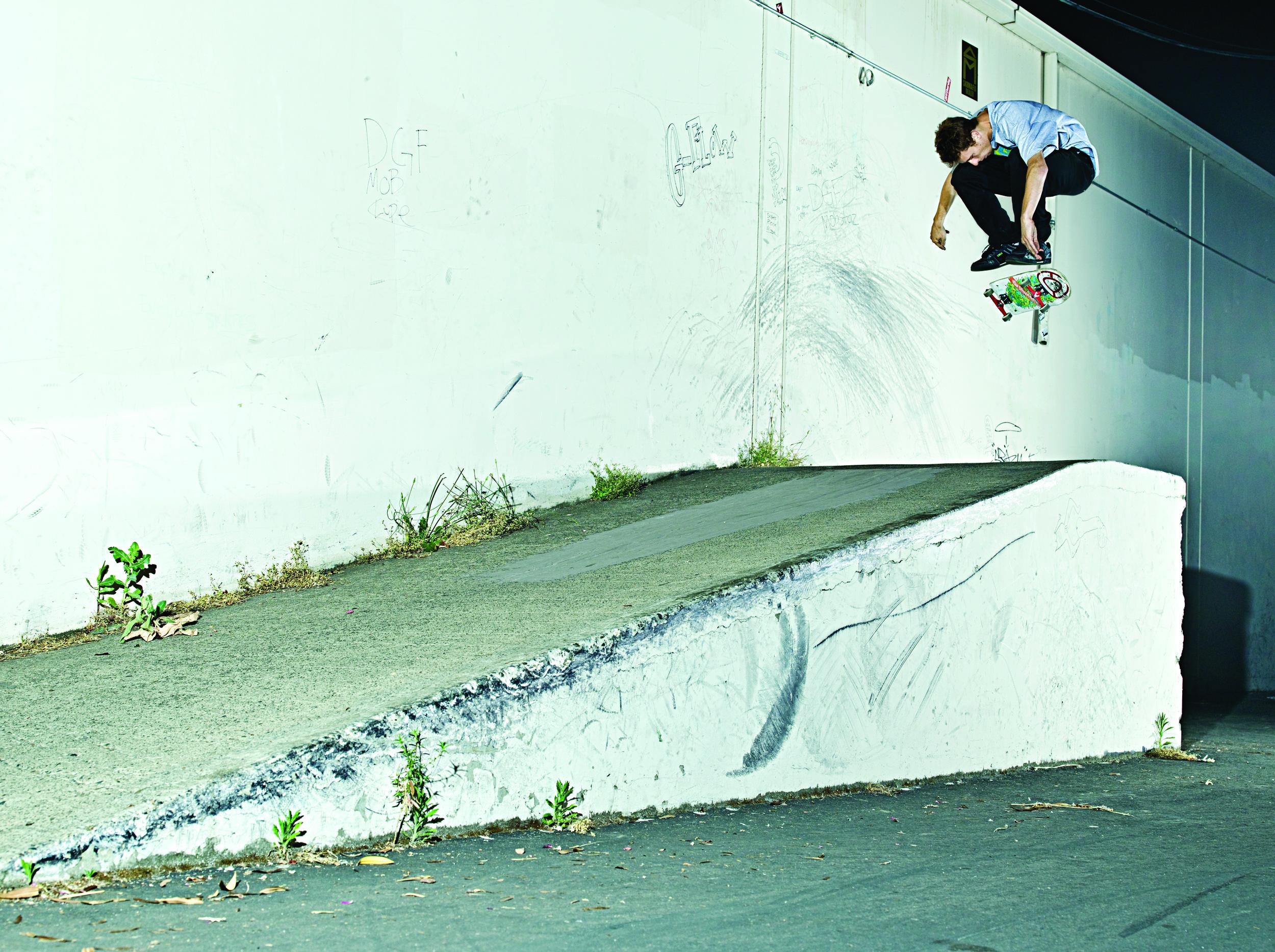 Switch bs Heelflip by Matt Daughters, Sacramento