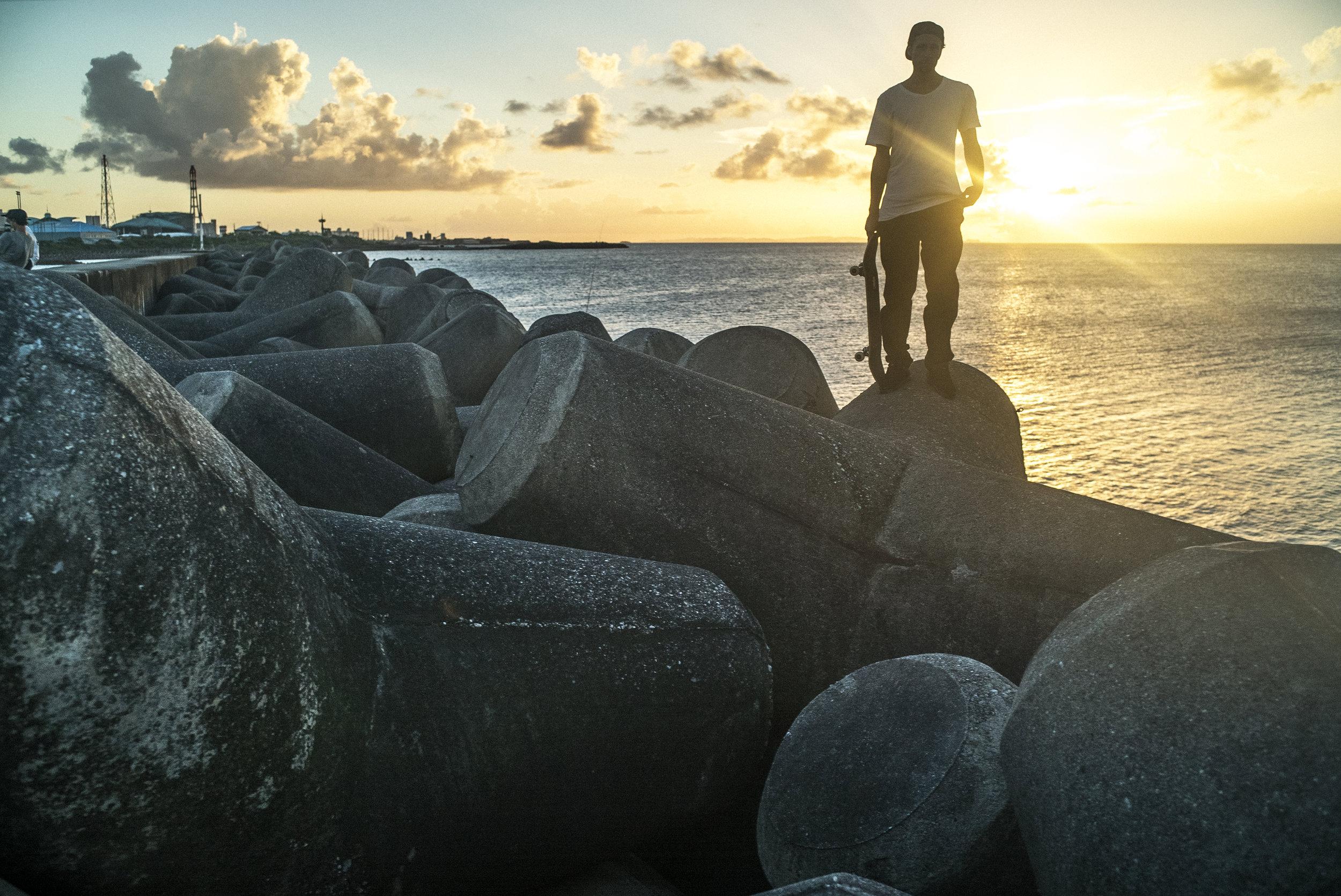 Digital Patrik Wallner 2016 Okinawa Walker Sunset.jpg