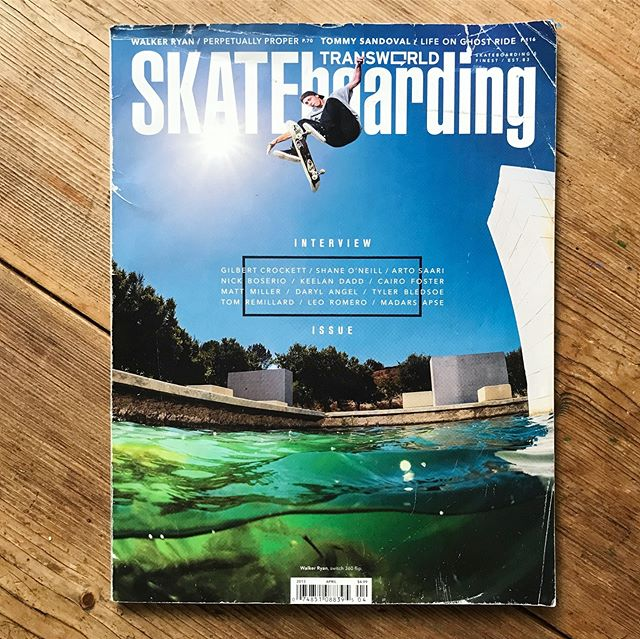 "From a ""check out"" to a cover, thank you @transworldskate for including me in the pages of your magazine. Not sure where I'd be without you! Landing this cover will forever be one of the greatest honors of my life. Excited to see what the future holds and I hope someday a print issue will return. There will forever be something magical about holding a skateboarding magazine in your hands. Thank you @blair.alley, @mattdaughters, @davechami, and the many other photographers who took photos of me that ended up in Transworld. And thank you @jaimeowens for publishing some of my writing!"