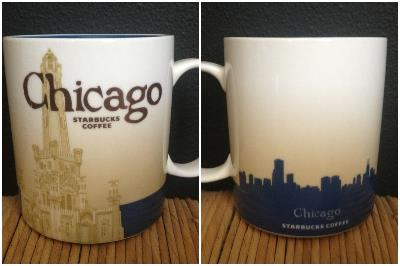 Global Icon Series - These are my absolute favorite. I love the size of the mug and the design with the skyline on the back. Word is that they are phasing these out and I am so upset! Who knows, maybe I will turn into an extreme collectors trying to get these off of eBay . . .