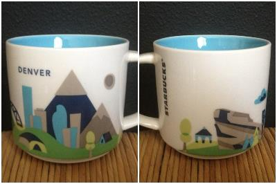 The newest series of mugs the - You Are Here Series. These mugs are small and many people do not like that they are supposedly replacing the Global Icon series. There is actually a huge petition out there for Starbucks to stop making these. Drama!