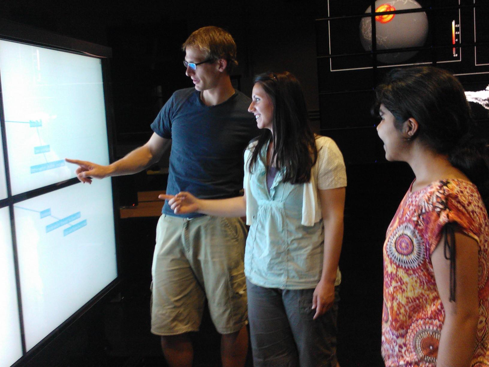 Test participants using  Lasso