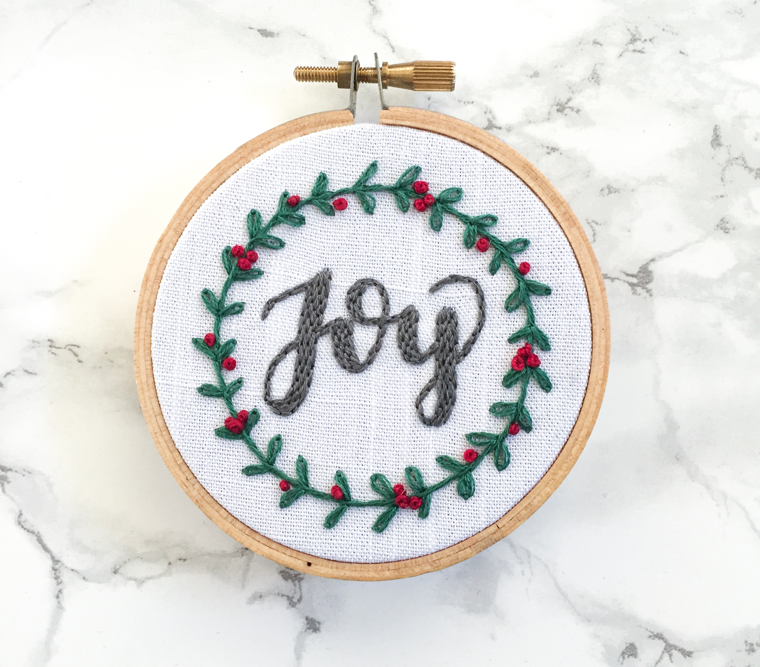 Happy stitching! - When you are working on your hoop, make sure to share your progress and final product on Instagram with #ladyscribstitches!If you have any questions, feel free to email me at hello@ladyscrib.com