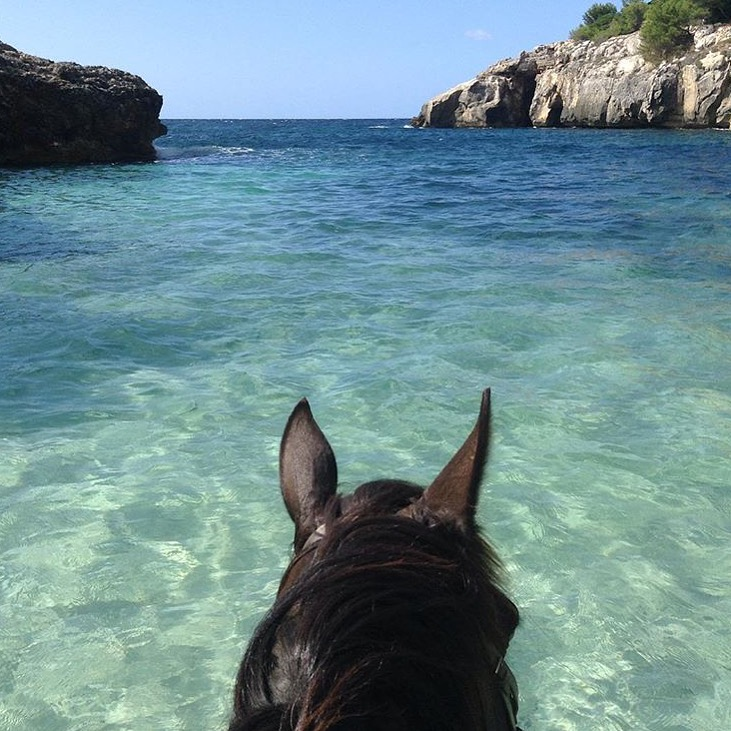 While we're on the theme of turquoise water, how about this one, courtesy of Amy March-Smith on the island of Minorca, Spain in the Mediterranean Sea. Follow Amy on Instagram here:  Instagram