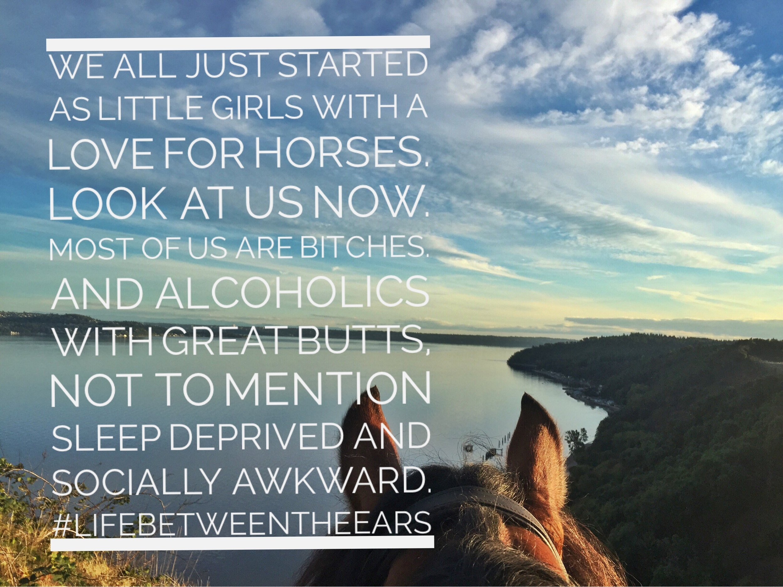 Thanks to @oscarnmag for making my day with this quote. #minusthegreatbutt #truth #lifebetweentheears