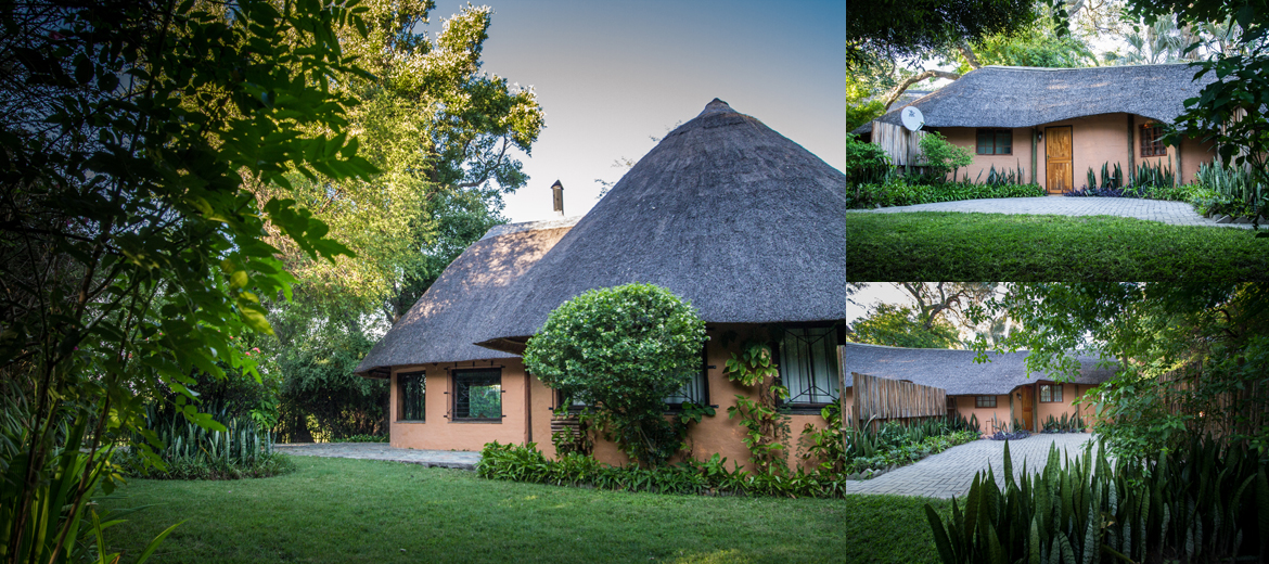 Kraal Lodge, Maun, Botswana   ( photo courtesy of the  Kraal Lodge  )