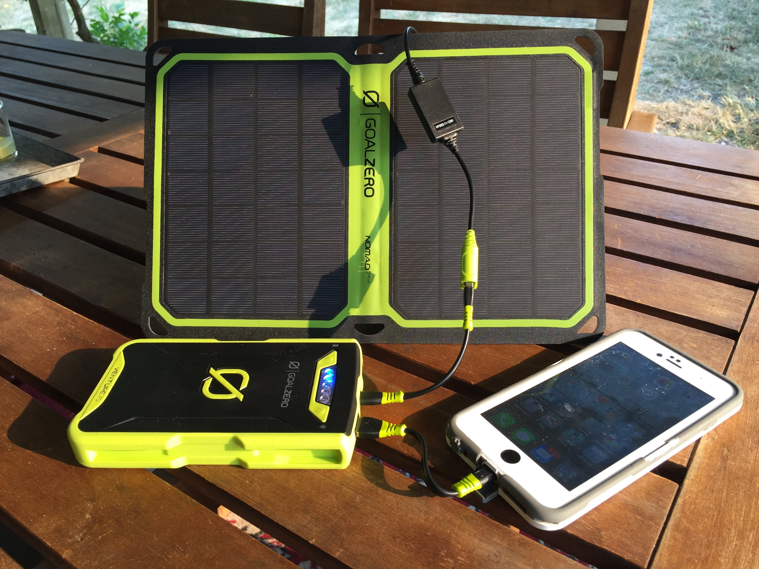 Solar Panel  and  Recharger