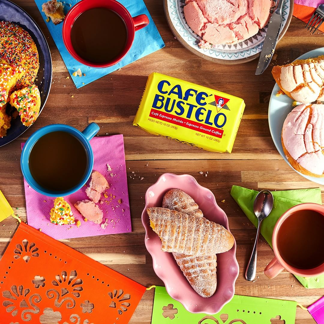 Food Styling / Lead Food Stylist:  Kendra Aronson . Client: Café Bustelo. Photographer: Todd Perkins. Agency: SapientRazorfish. Location: San Luis Obispo.