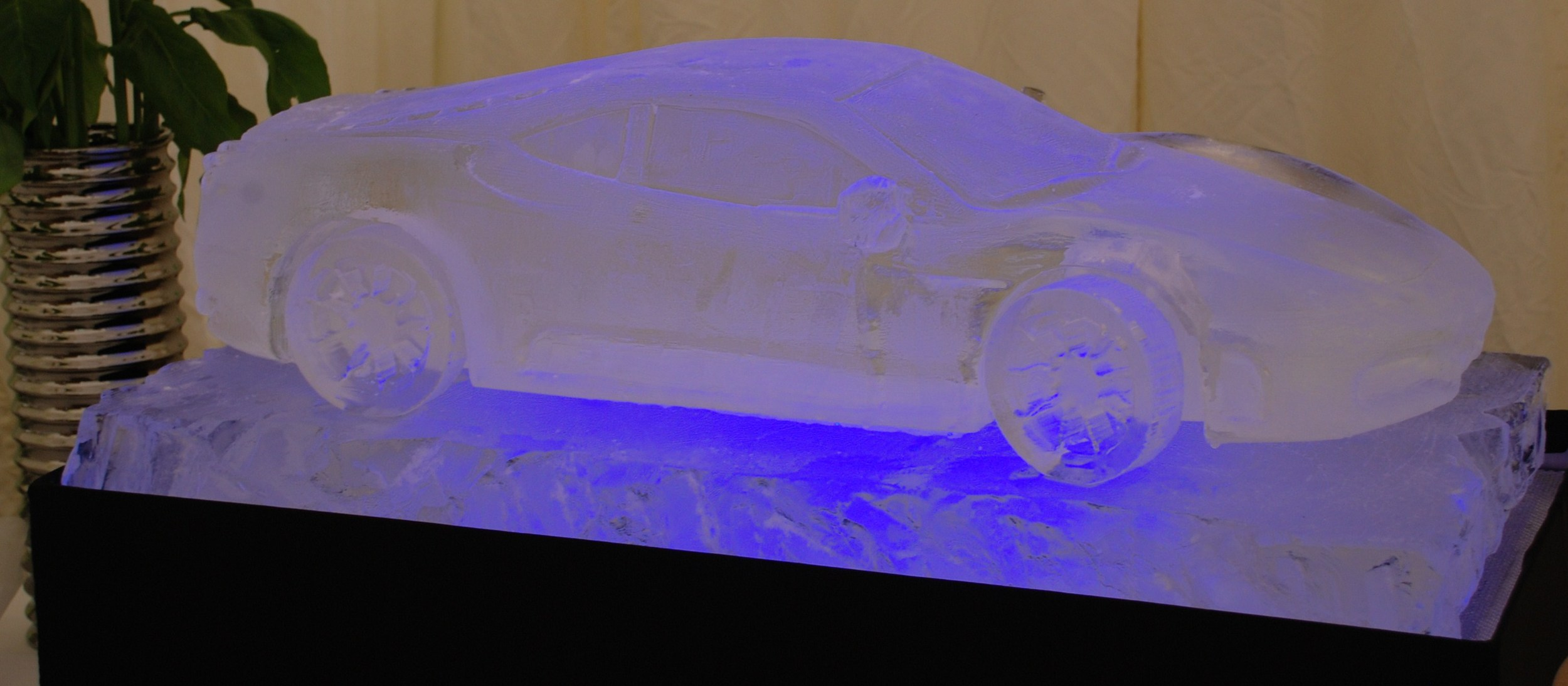 Ferrari F430 Ice Sculpture