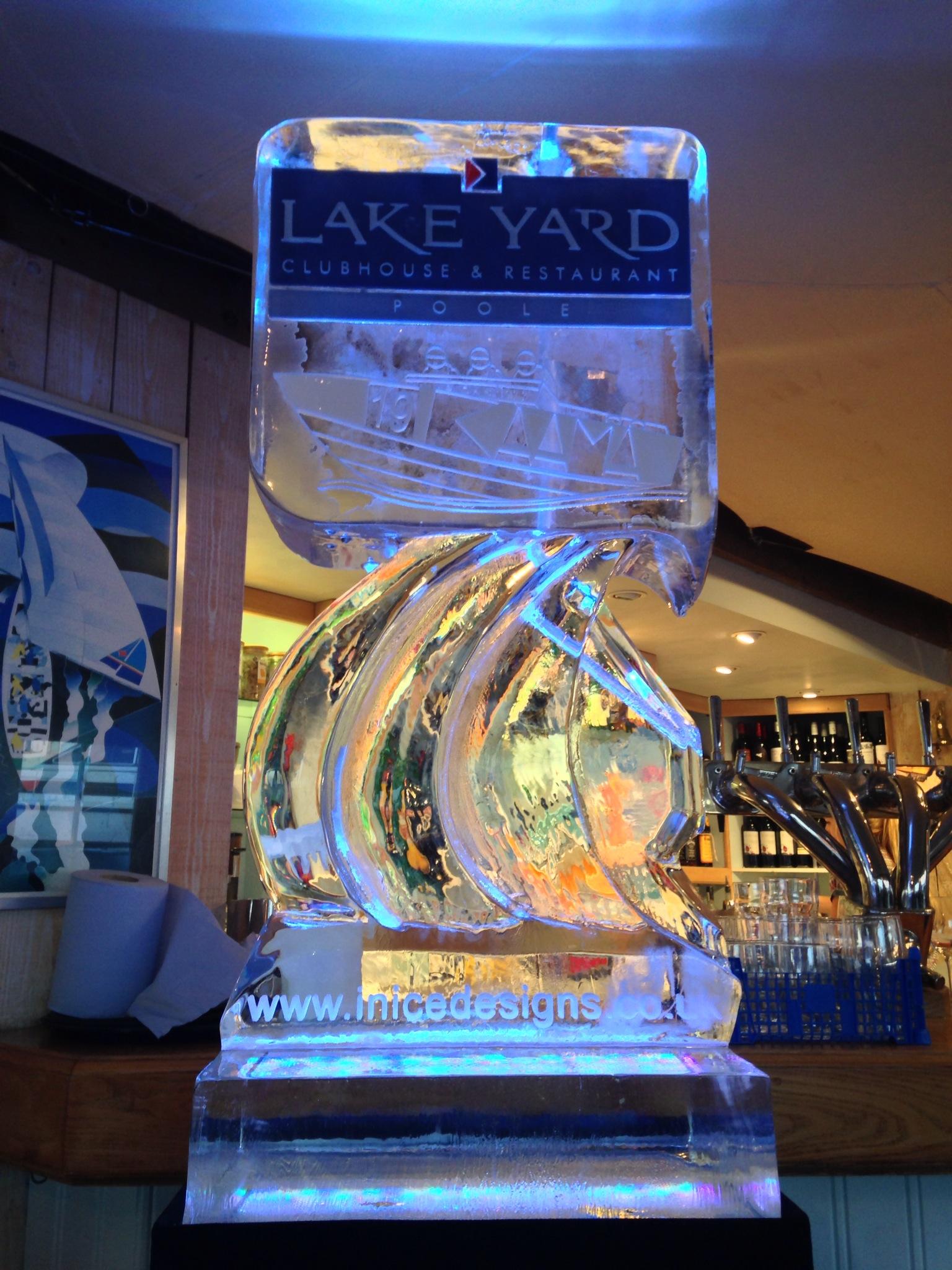 Lakeyard Kamma Power-Boat Vodka Luge