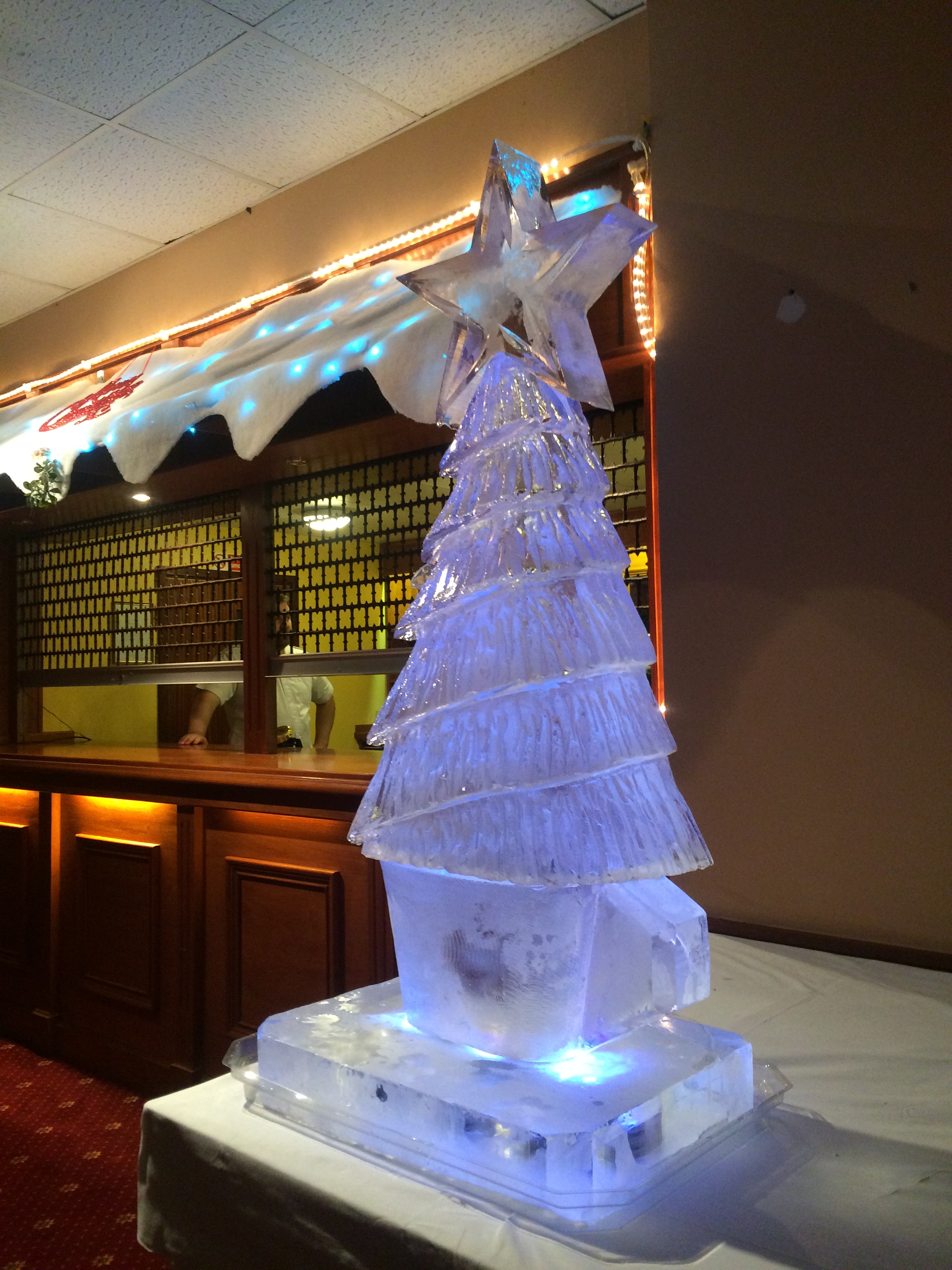 Christmas Themed Party Luge