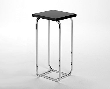 FP09-2:    1930 ca.  |                                      Paul Theodore Frankl                 Table with chromed squared squaresteel tubeframe. Top available in several finishes.