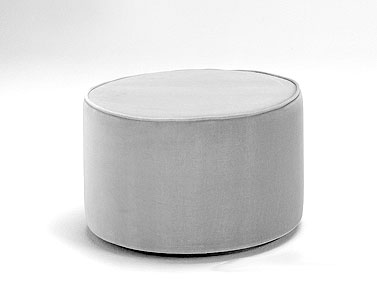 SA36: 1958  |                                      Eero Saarinen                                       Pouf with wooden base and self-supporting expanded foam. Non removable covering in fabric or leather.