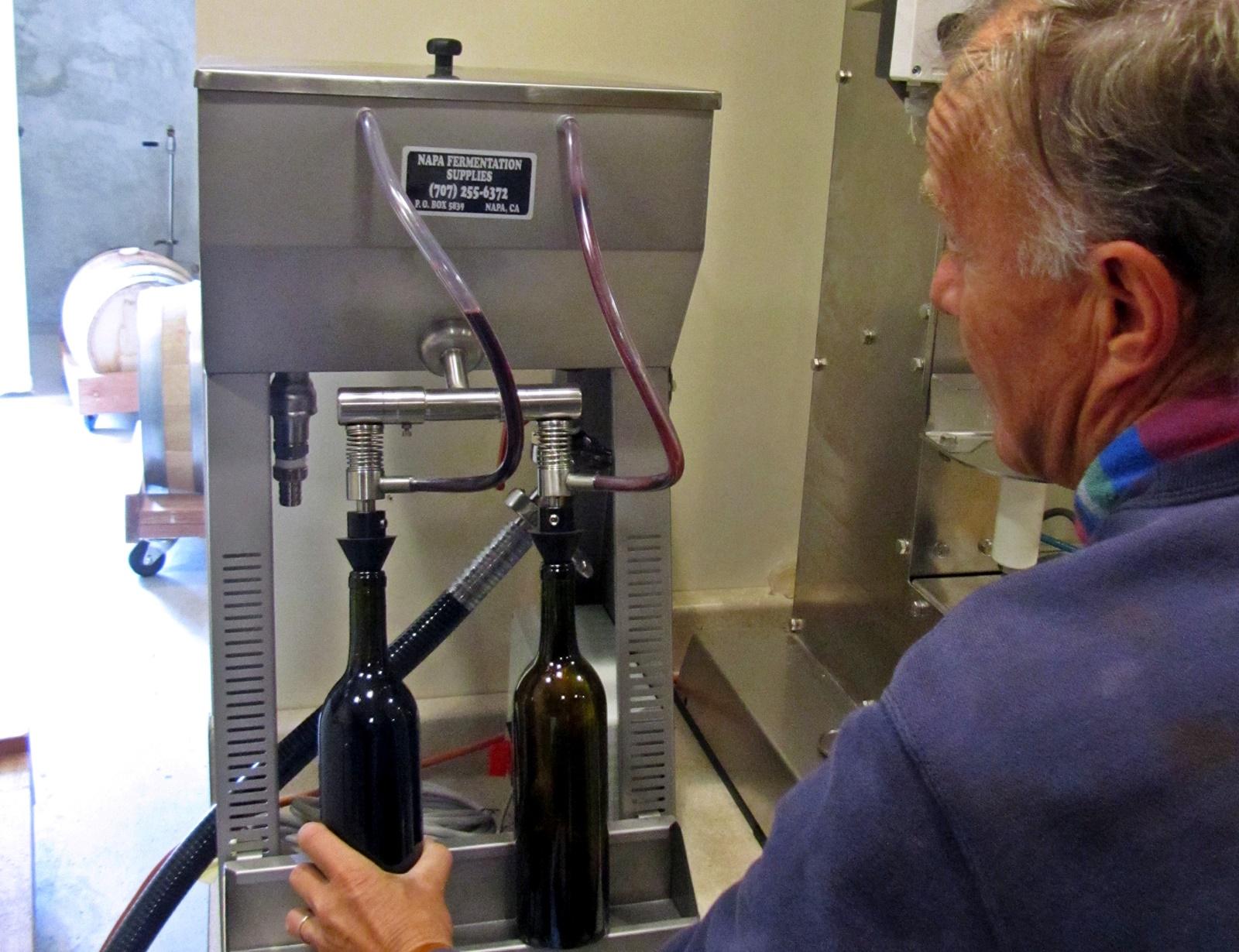 1 Filling the bottles