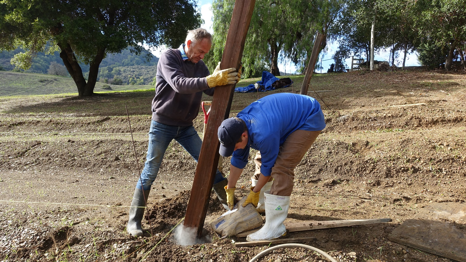 5. Cementing the endposts