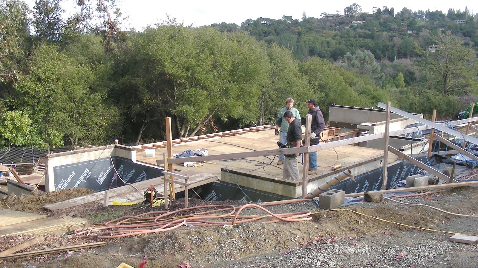 4. Jan 22, 2008: Framing the upper floor