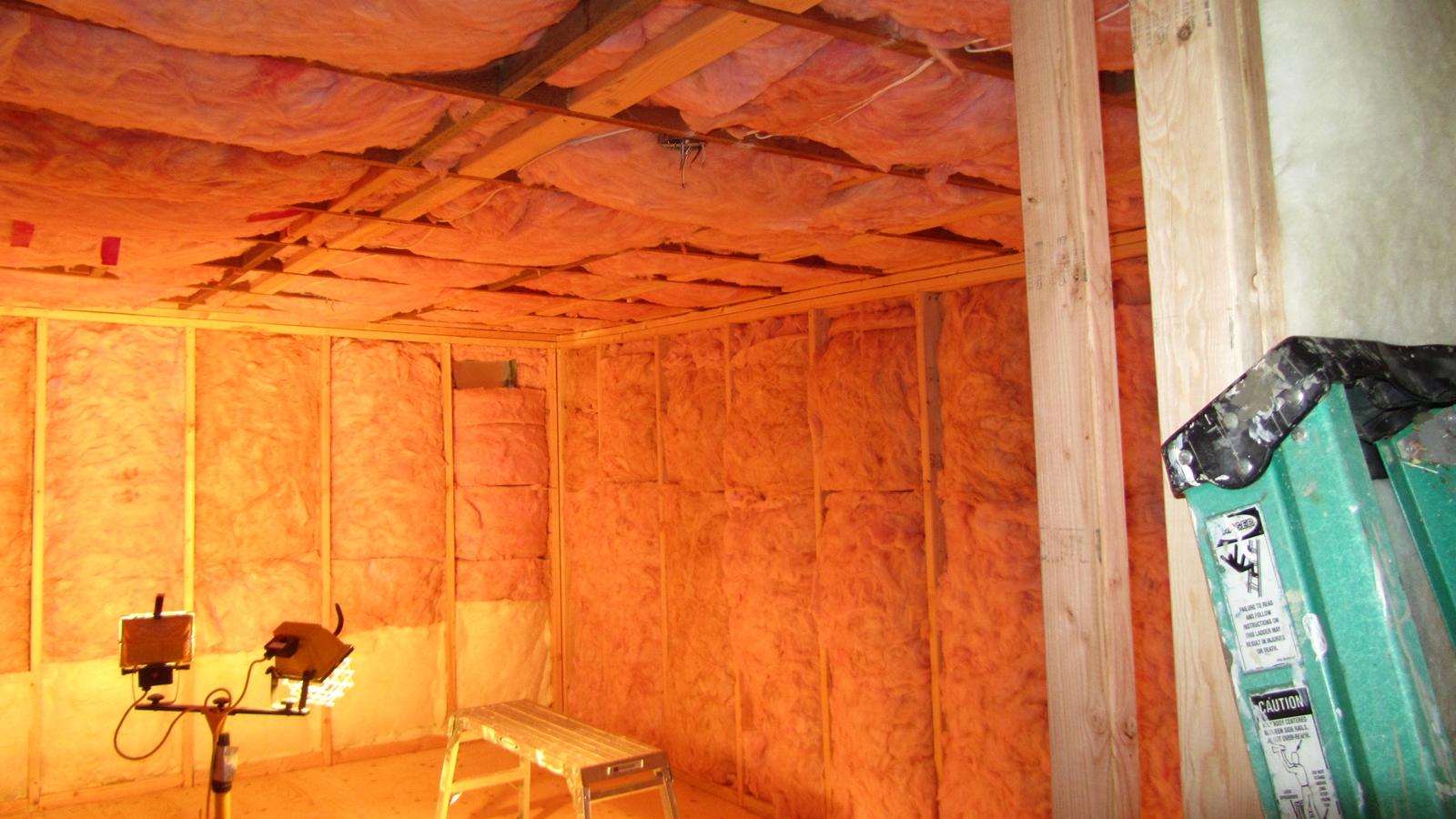 4. Adding insulation