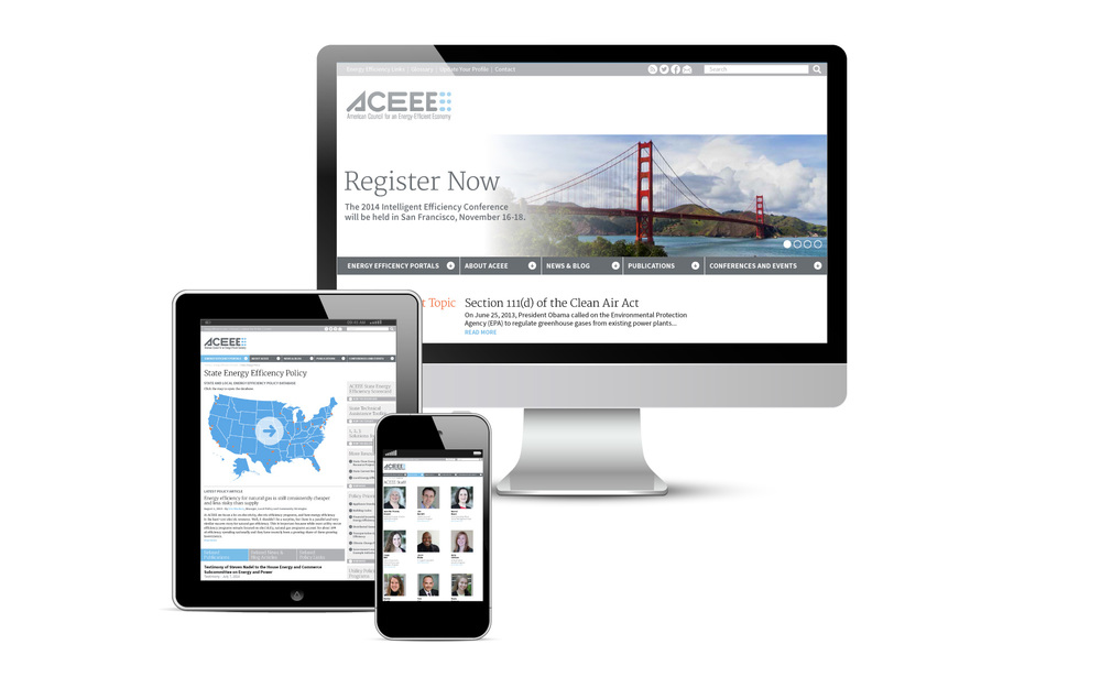 Website Design | ACEEE — Michael Hennessey